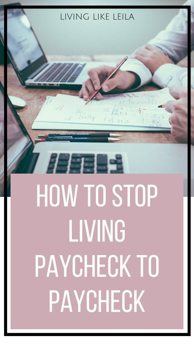 Are you tired of stressing about money? Take these steps to stop living paycheck to paycheck, take control of your finances, and come out on top!