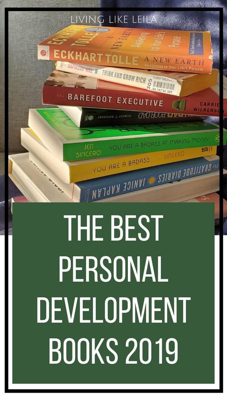 The best personal development books for growth, business, finances, and spirituality.  www.LivinglikeLeila.com