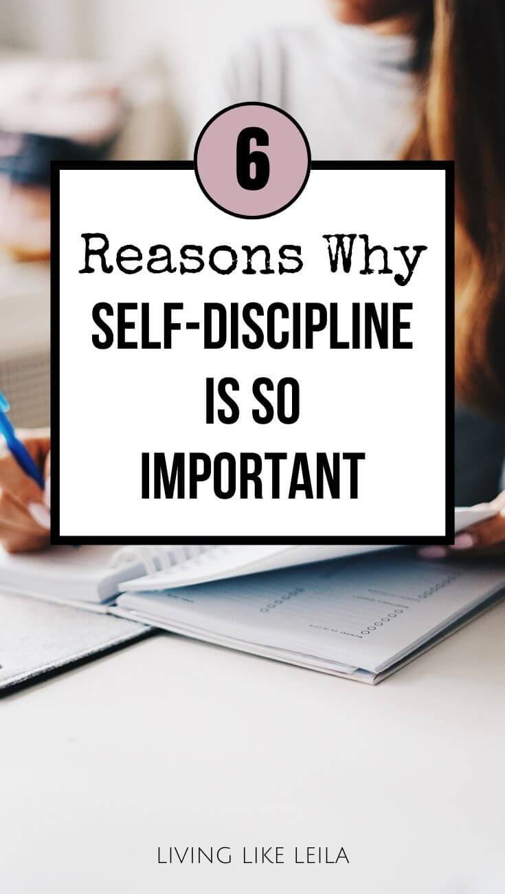 Self-discipline is one of the best characteristic traits you can develop. Implementing discipline can change your life and get you to where you want to be. Here are 6 reasons why self-discipline is so important! www.LivinglikeLeila.com