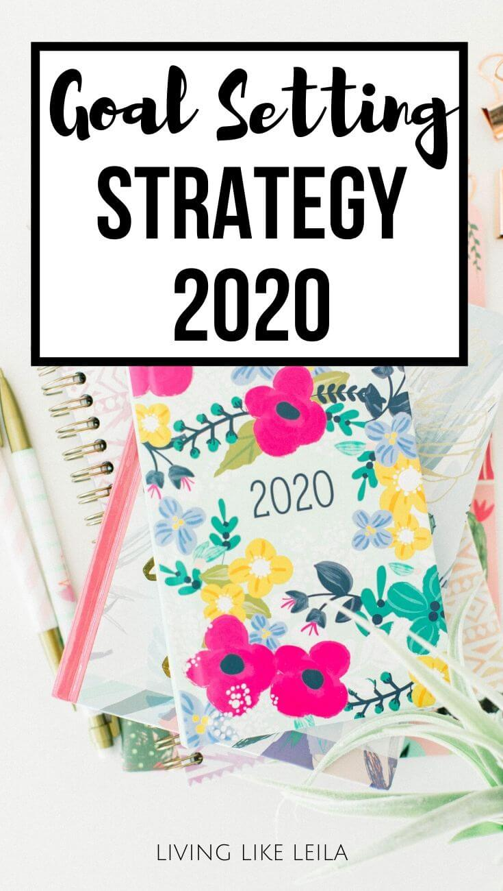 Make 2020 your best year ever by actually setting goals that are important to you, planning them out, and tracking them regularly. Read this goal-setting strategy to learn more about how to do this! www.LivinglikeLeila.com