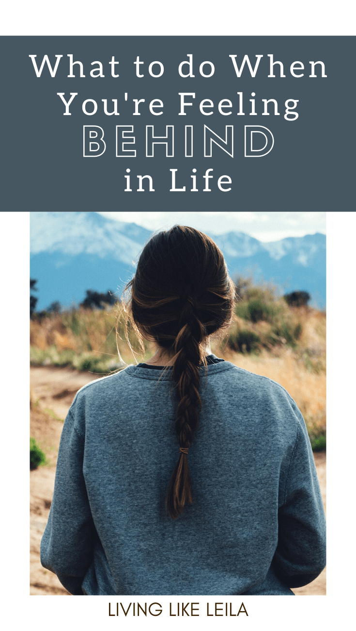 Feeling behind in life is common. Whether you feel behind in your career, in your love life or compared to your peers, you're not alone. I want to encourage you to put an end to that mindset. www.LivinglikeLeila.com