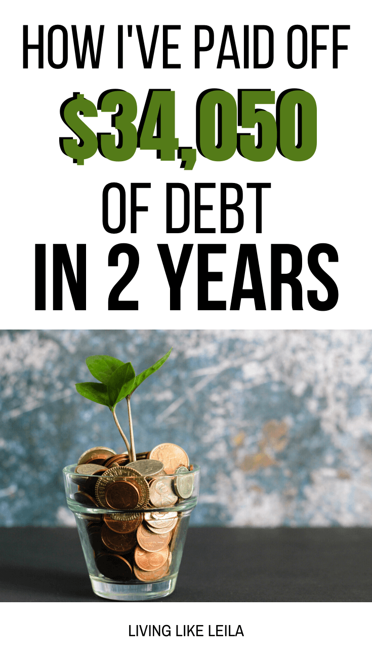 I've been on my debt free journey for 2 years now. I started with over $82,000 of debt and have paid off over $34,000 since then. In this post I share my journey. www.LivinglikeLeila.com