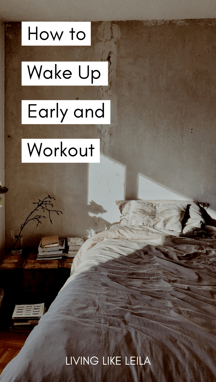 Waking up early is one thing, but waking up early to workout is a huge challenge that you should try out. Working out in the morning has been life-changing and it's a habit with many benefits. Read how to do it at LivinglikeLeila.com