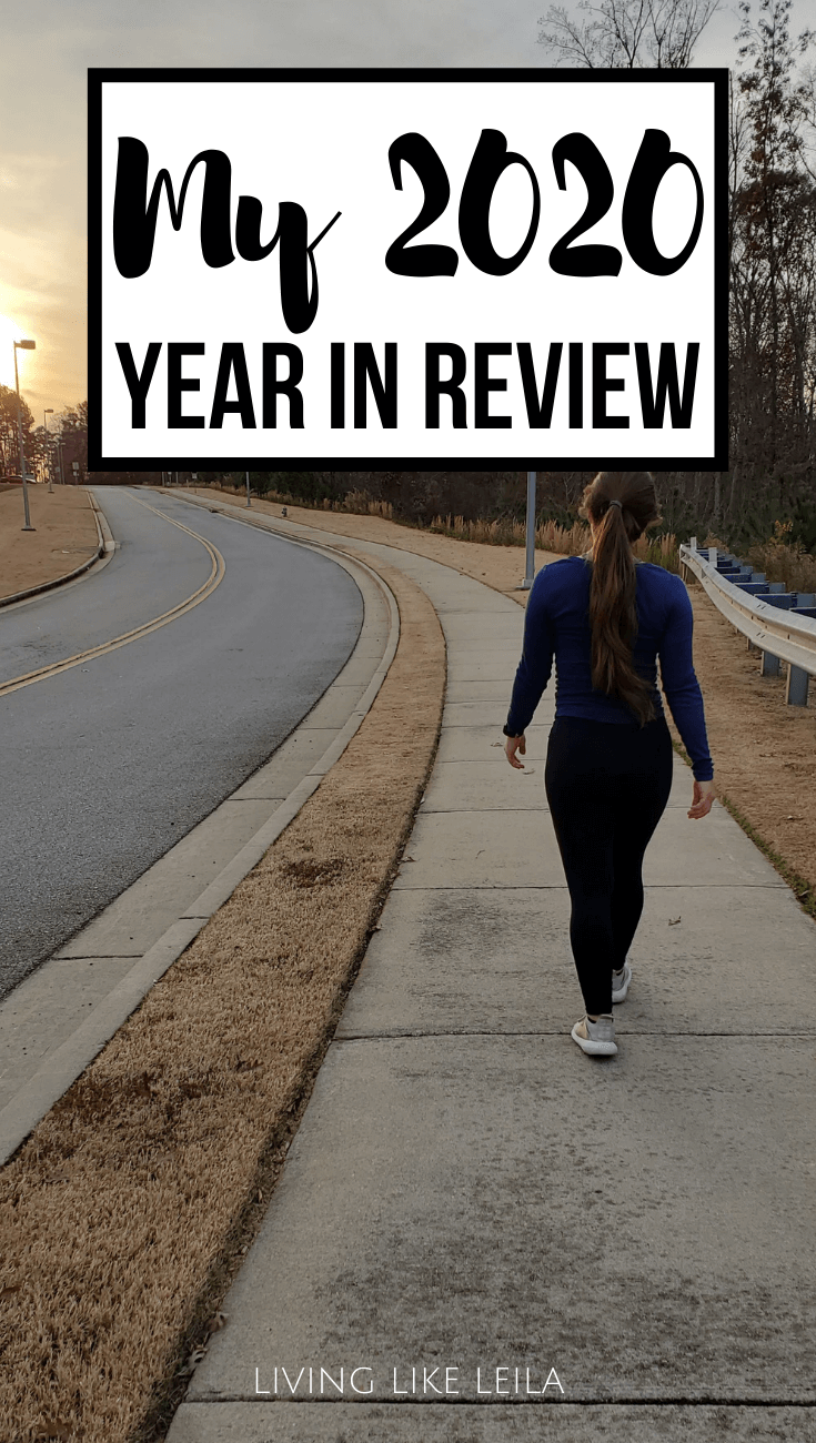 My 2020 Year in Review. My accomplishments and setbacks, organized by areas of life.  www.LivinglikeLeila.com
